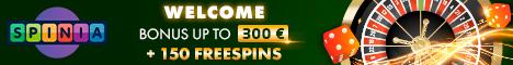Spinia Casino Jetzt 100% Bonus!